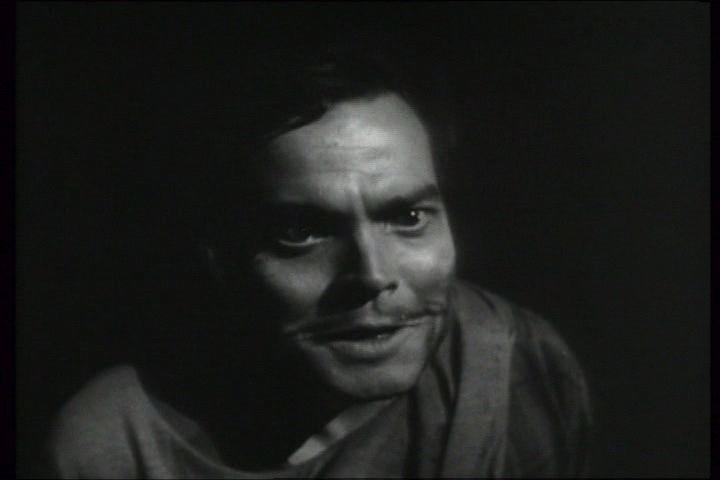 Macbeth's second encounter with the Witches (Welles)