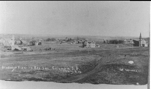 Columbia City in the early 1900s