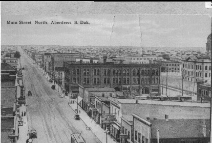 Downtown Aberdeen in the early 1920s