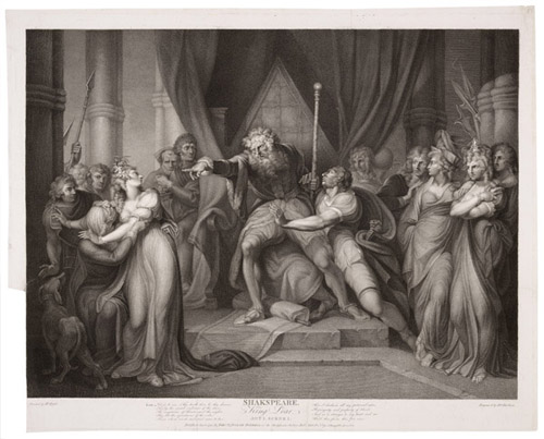 Figure 13. Henry Fuseli, King Lear Casting Out His Daughter Cordelia (1803)