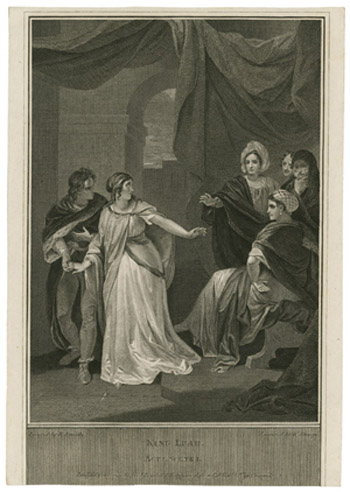 Figure 14. Robert Smirke, Cordelia Departing from the Court (1802)