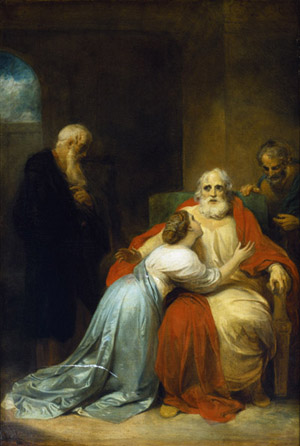Figure 18. Robert Smirke, The Awakening of King Lear (1792)