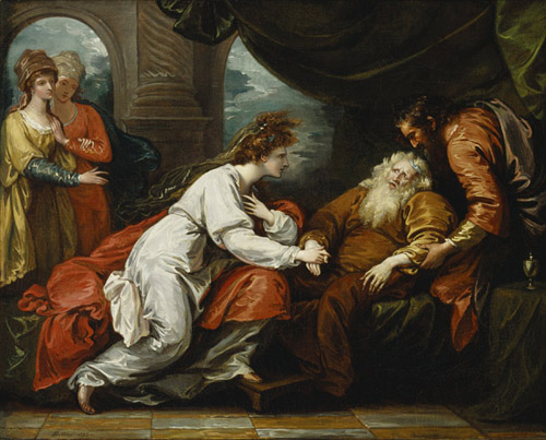 Figure 19. Benjamin West, King Lear and Cordelia (1793)