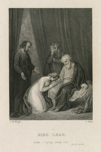 Figure 23. John Macey Wright, King Lear: I pray, weep not (n.d.)