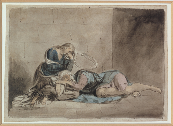Figure 25. William Blake, King Lear and Cordelia in Prison (1779) © Tate, London 2011