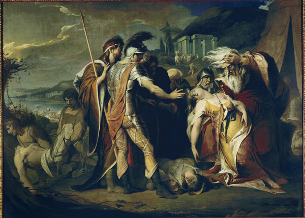 Figure 27. James Barry, King Lear Weeping Over the Dead Body of Cordelia (1786-1788) © Tate, London 2011