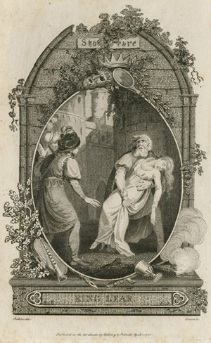 Figure 28. Henry James Richter, Lear and Cordelia (1790)