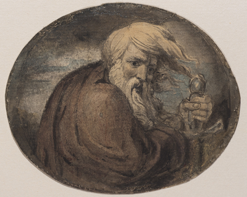 Figure 4. Blake, Lear Grasping a Sword (ca. 1780) © 2011 Museum of Fine Arts, Boston