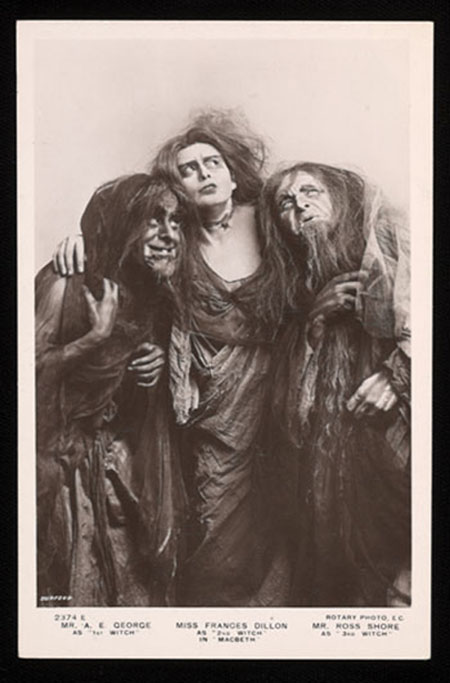 Figure 3. Witches in Macbeth, directed by Herbert Beerbohm Tree