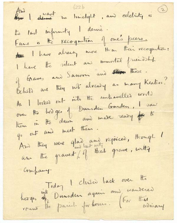 Figure 8. Letter to Susan Owen, 25 May 1918